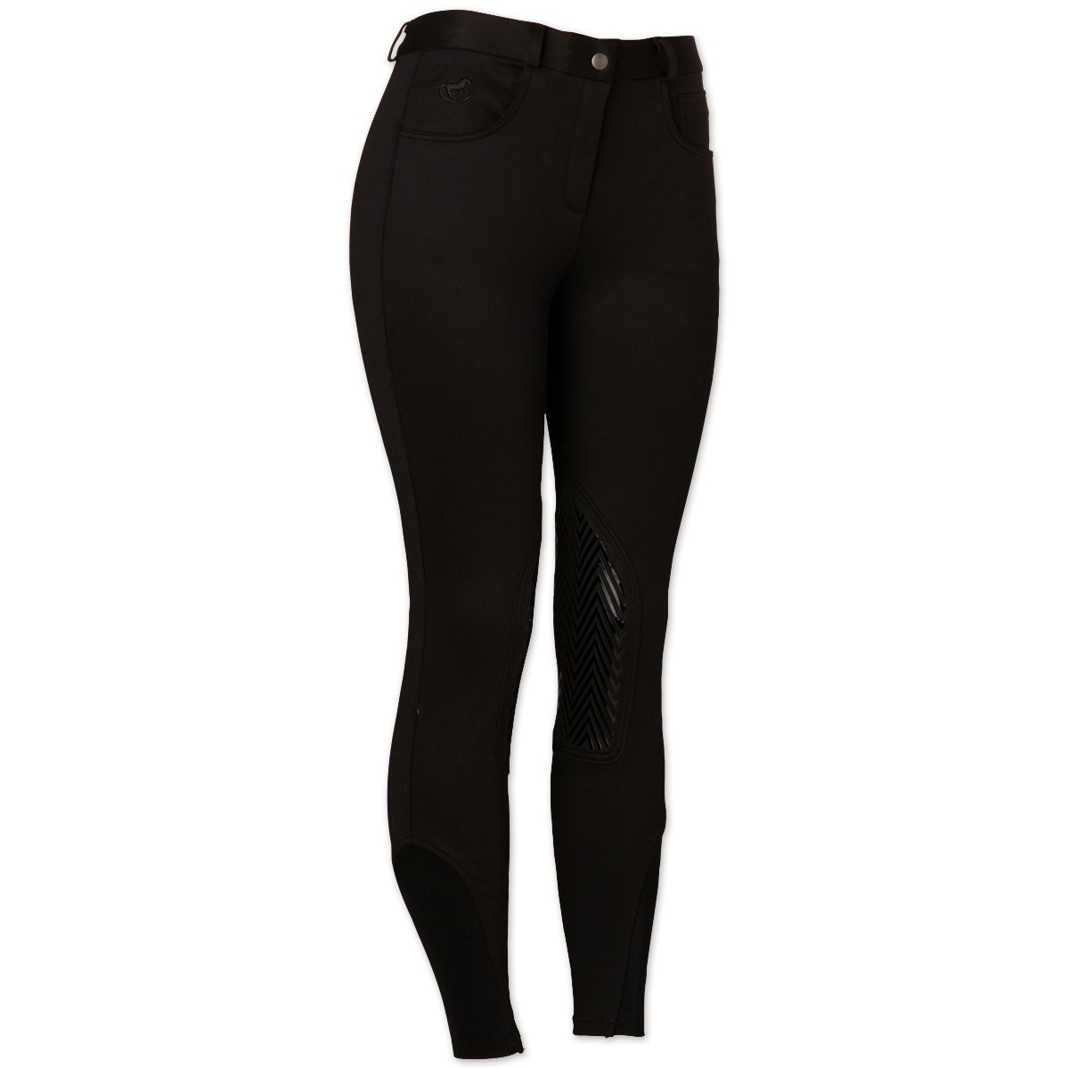 Piper Knit Breeches by SmartPak- Fleece Lined Knee Patch