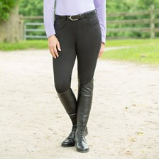 Piper Winter Knit Breeches by SmartPak - Knee Patch