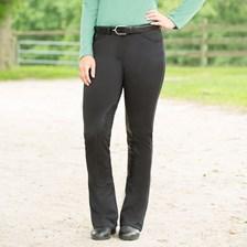 Piper Knit Breeches by SmartPak- Fleece Lined Boot Cut