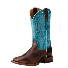Ariat Men's Cowtown Boot- Chocolate Bullfrog