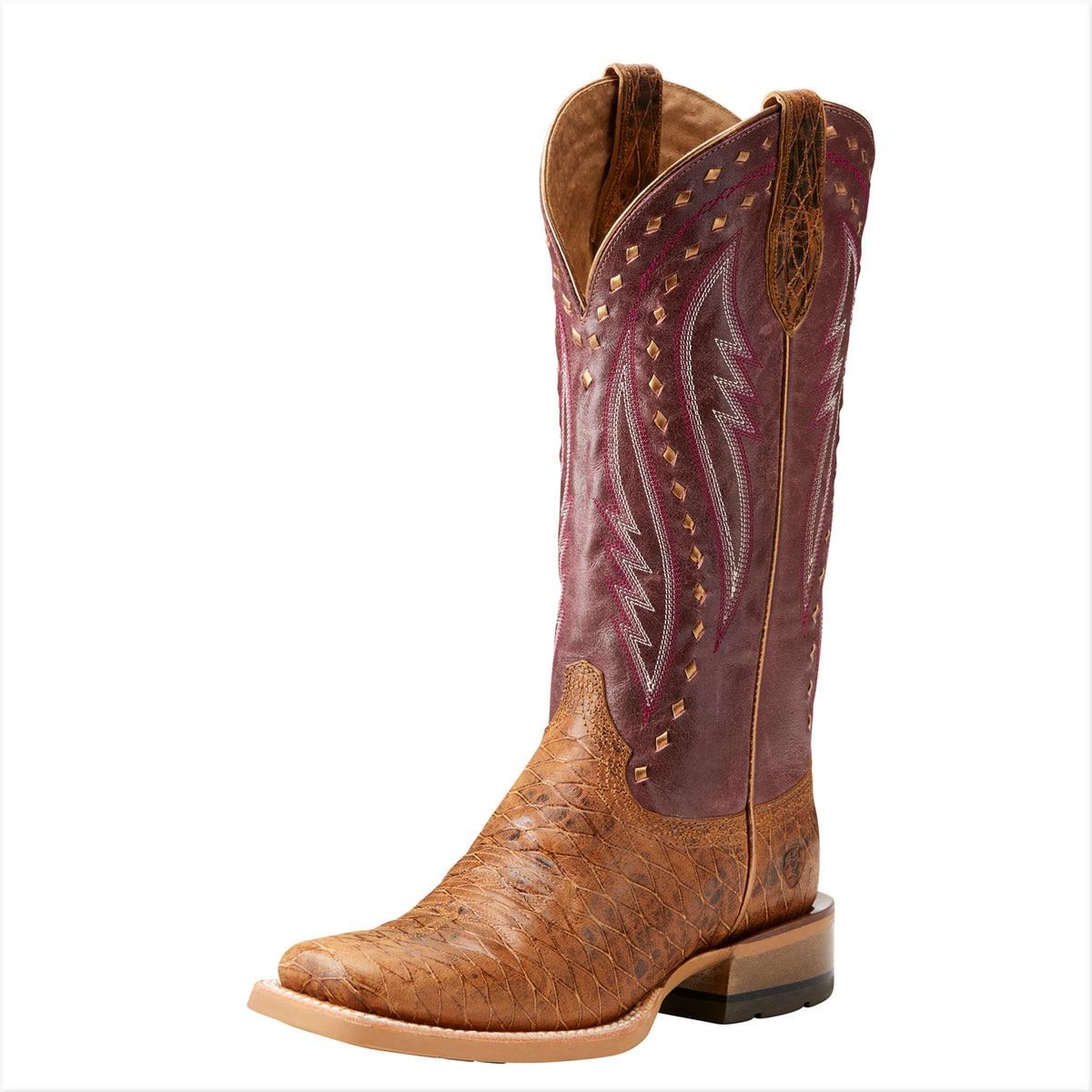 Ariat Ladies Callahan Boot- Cattleguard Tan