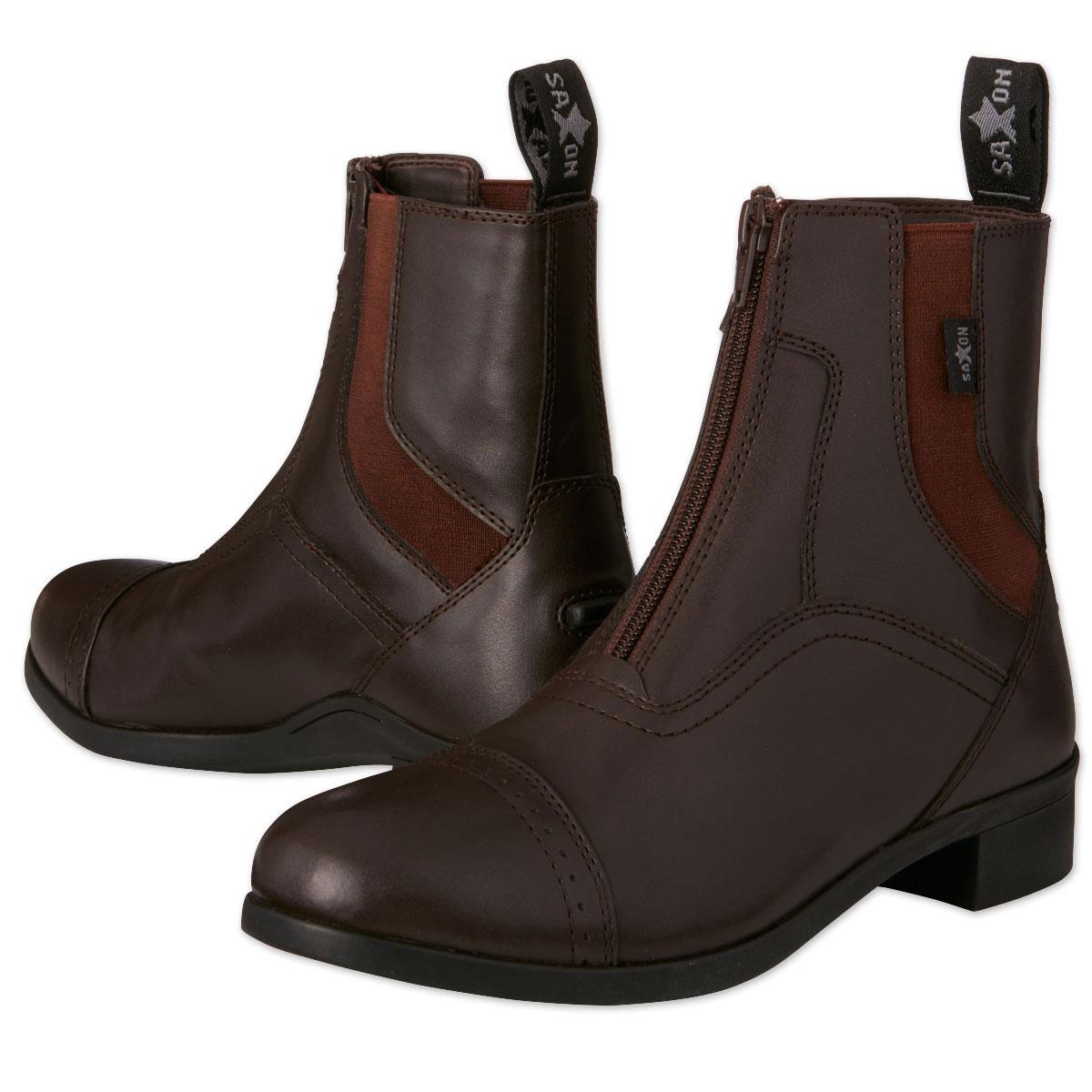 Saxon Syntovia Kids Zip Paddock Boot