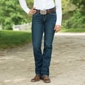 Wrangler® Women's Ultimate Riding Jeans Cool Vantage - Q-Baby- DW Wash