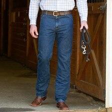Wrangler Men's Premium Performance Cool Vantage Cowboy Cut Regular Fit Jeans