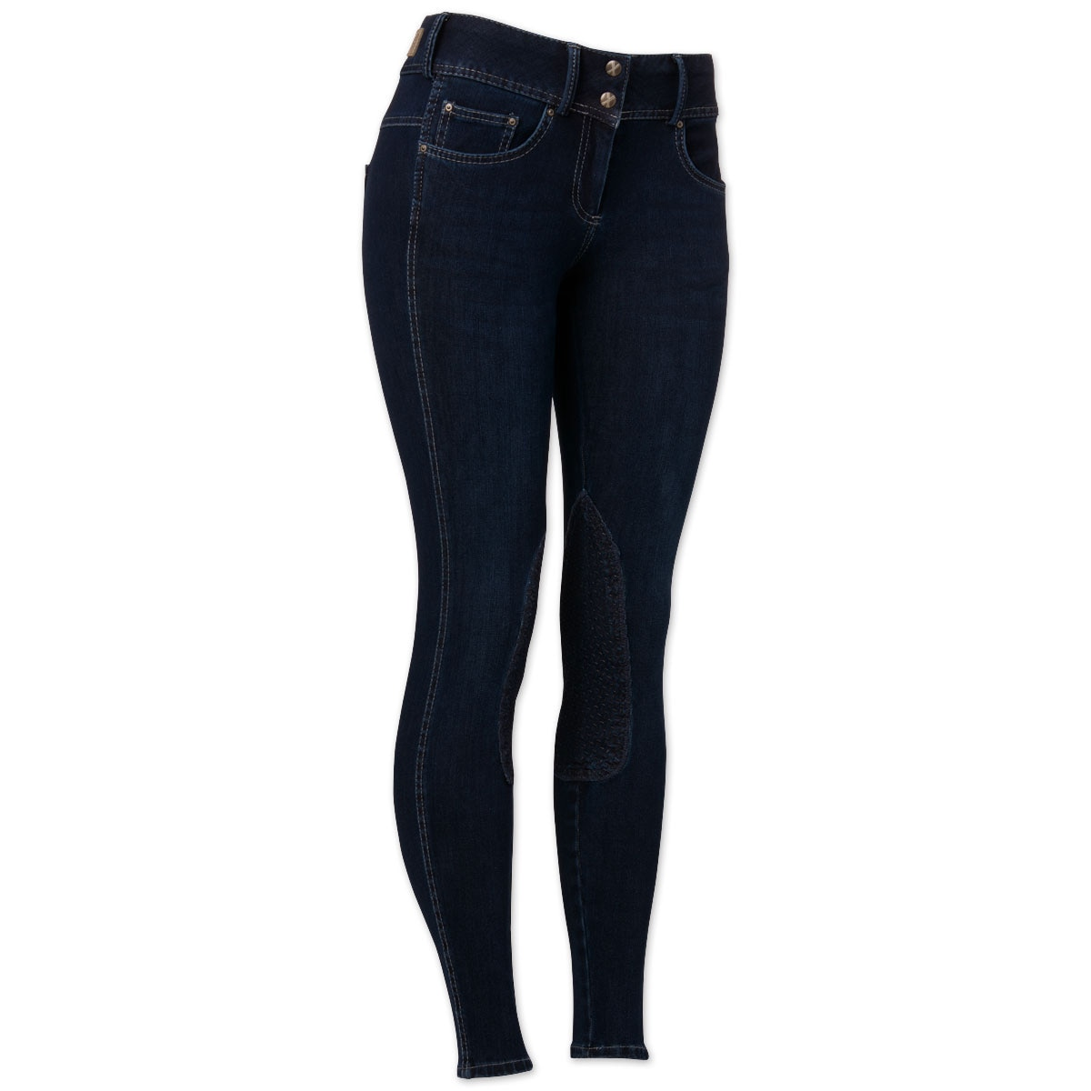 Goode Rider Vogue Denim Knee Patch Breech