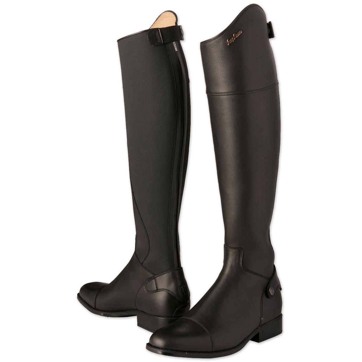 Sergio Grasso Progress Tall Boot Absolute Black Size