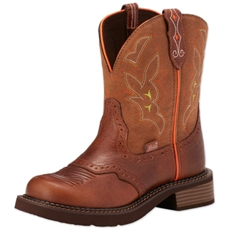Justin Women's Gypsy Collection- Tan Buffalo