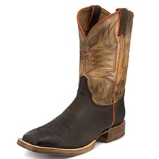 Justin Men's CPX Collection- Chocolate Whiskey