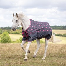 Shires Tempest Patterned Rain Sheet - Pony
