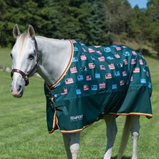 Shires Tempest Patterned Rain Sheet