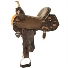Circle Y Josey Ultimate Legend Barrel Saddle - Test Ride Clearance!