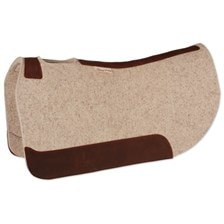 5 Star Round Skirt Barrel Racer Pad - FREE Cleaning Sponge