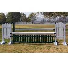 CJ-21 Picket Fence Oxer