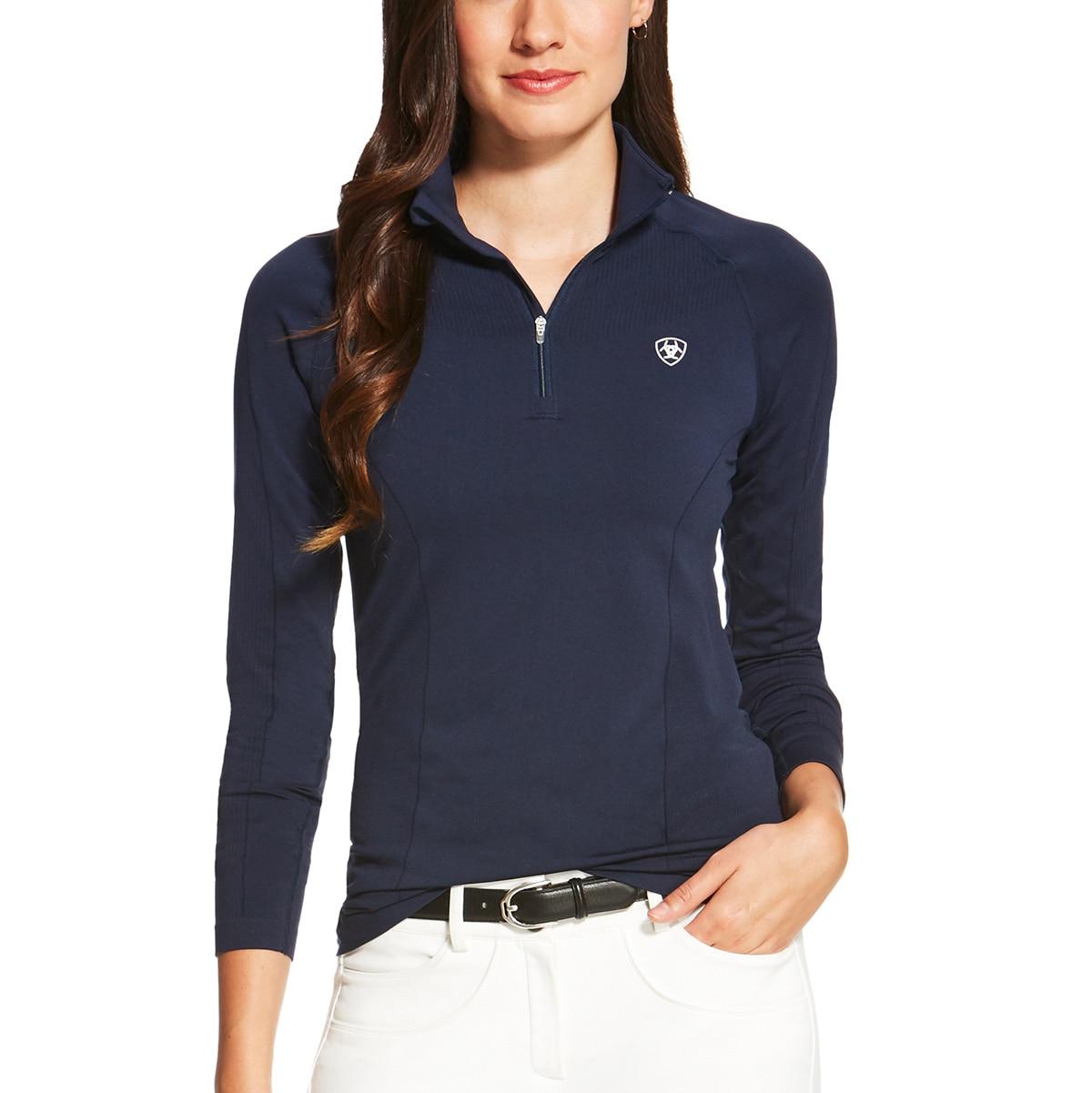 Ariat Odyssey Seamless 1/4 Zip Sun Shirt
