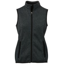Personalized Pacific Heathered Fleece Vest