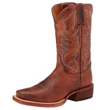 Justin Men's Bent Rail Performance Boot- Stone Age Cognac