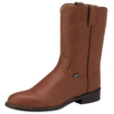 Justin Men's Farm and Ranch Roper Boot