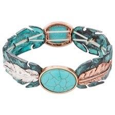 Blazin Roxx Feather Bracelet