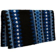 Mayatex Catalina Wool Saddle Blanket- Blue