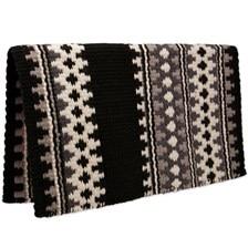 Mayatex Catalina Wool Saddle Blanket- Grey