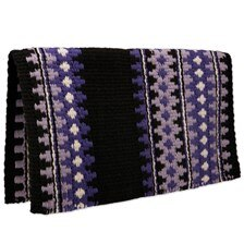 Mayatex Catalina Wool Saddle Blanket- Purple