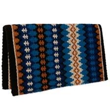 Mayatex Nova New Zealand Wool Saddle Blanket- Blue