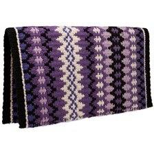 Mayatex Nova New Zealand Wool Saddle Blanket- Purple