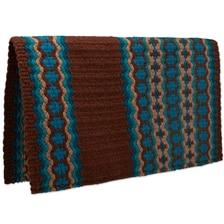 Mayatex Canyon Land Wool Saddle Blanket- Turquoise
