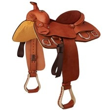 Circle P Leather Training Saddle