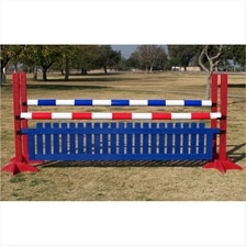 CJ-34 Post Standards Picket Oxer