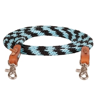 Mustang Round Braided Trail Reins