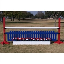 CJ-37 Flower Box and Picket Fence Jump