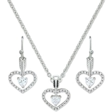 Montana Silversmiths Straight to the Heart Arrow Jewelry Set