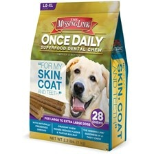 The Missing Link® Once Daily™ Skin & Coat Dental Chews