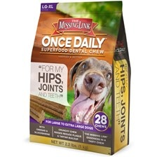 The Missing Link® Once Daily™ Hip & Joint Dental Chews