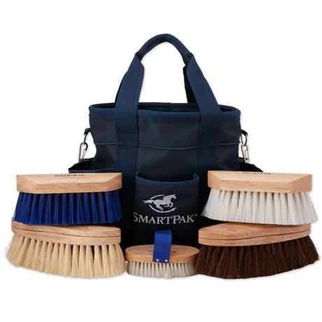 SmartPak Grooming Tote & Brush Set