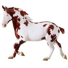 Breyer Traditional Horse - Spotted Draft