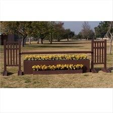 CJ-41 Picket Fence Wall Jump