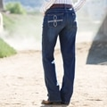 Aura by Wrangler Women's Instantly Slimming Jeans with Booty Up- OS Wash