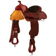 SMARTPAK EXCLUSIVE - Cashel Roughout Trail Saddle