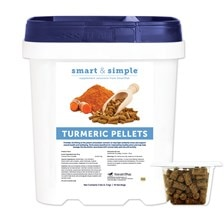 Smart & Simple™ Turmeric Pellets (formerly Turmeric Pellets by SmartPak)