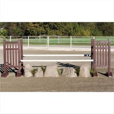 CJ-65 Hunter Derby Natural Rock Oxer Jump