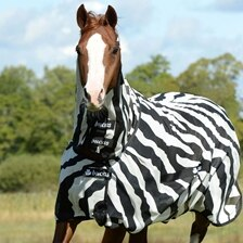 Bucas Buzz Off Combo Neck Zebra Fly Sheet