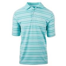Cinch Men's ARENAFLEX Striped Polo Shirt