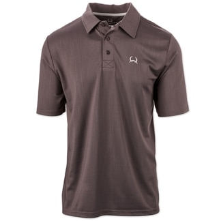 Cinch Men's ARENAFLEX Solid Polo Shirt