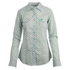 Cinch Women's Printed Button Down Shirt