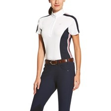 Ariat Color Block Short Sleeve Show Shirt