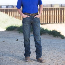 Ariat Men's M5 Low Rise Straight Jeans- Swagger