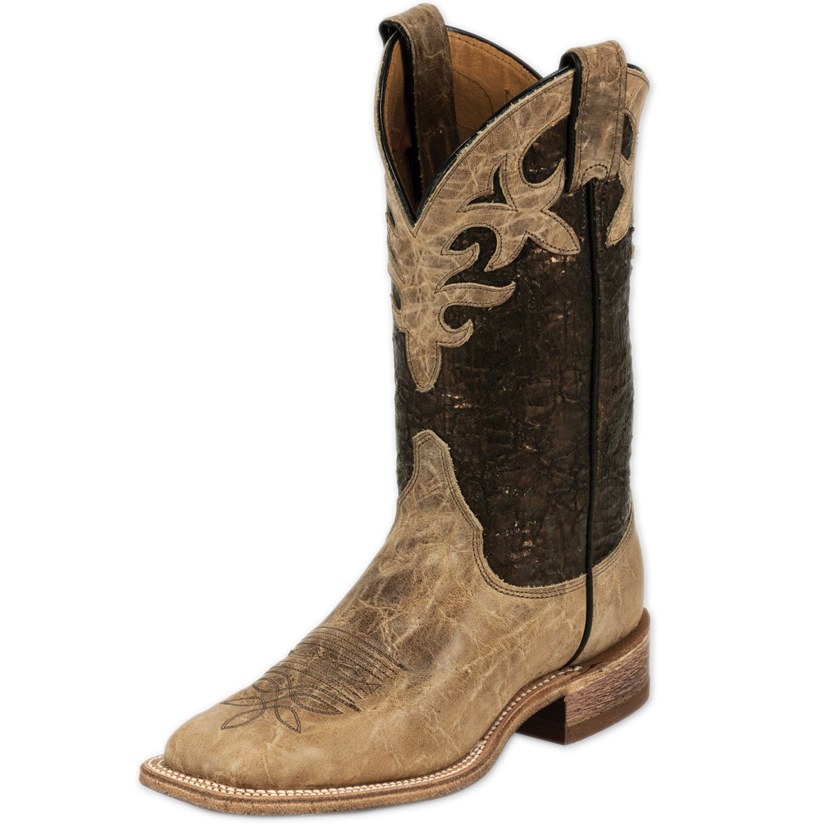 Justin Women's Bent Rail Boots- Kenedy Metallic