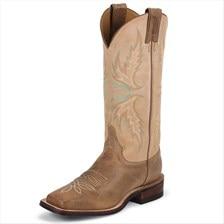 Justin Women's Bent Rail Boots- Uvalde Mocha